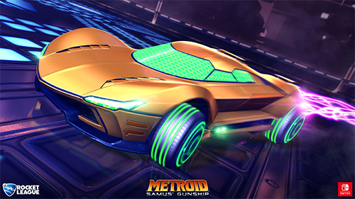 A Metroid-inspired vehicle.