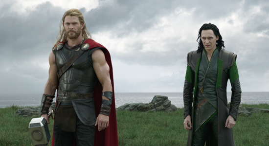 Thor and Loki find their father Odin
