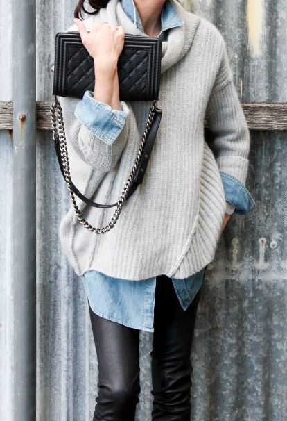 If you're going to layer, let the layers underneath show through