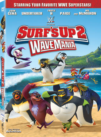Surf's Up 2: WaveMania DVD Cover