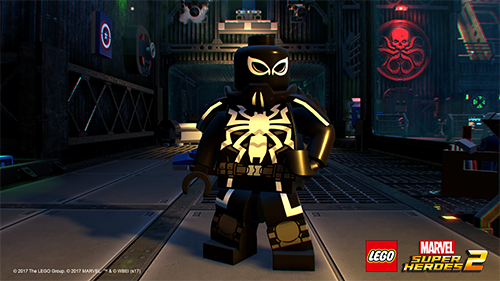 You'll see a lot of deep cuts from the Marvel universe including Agent Venom.
