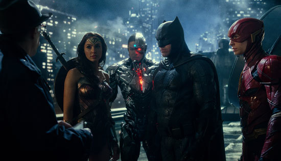The League meets with Commissioner Gordon