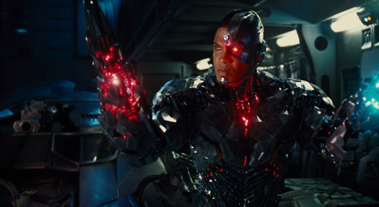 Ray Fisher is Cyborg
