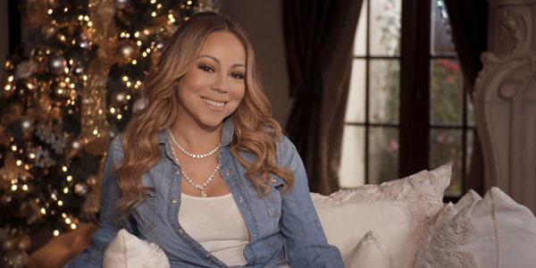 Mariah Carey Talks New Holiday Movie All I Want for Christmas is You