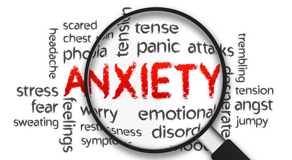 Anxiety is a lot like the monster who wouldn't go away.