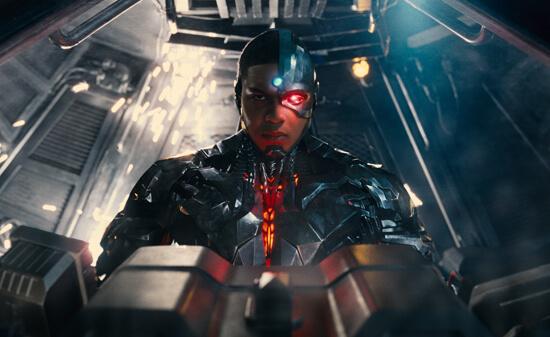 Cyborg joins the team