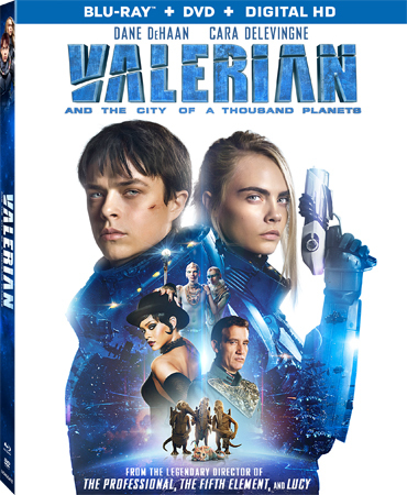 Valerian and the City of a Thousand Planets Blu-ray