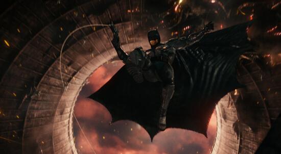 Batman swings into action