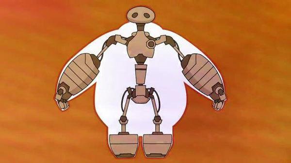 The skeleton inside Baymax