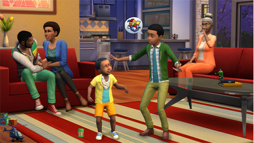 Building relationships with family and friends shows off the game's personality.