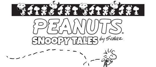 Peanuts by Schulz: Snoopy Tales Coloring Sheets!
