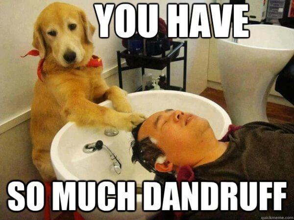 A good scrubbing helps fight flaky dandruff