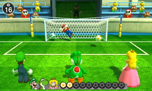 The game's visuals look great on the 3DS screen.