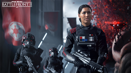 Iden Versio is a fitting addition to the Star Wars universe.