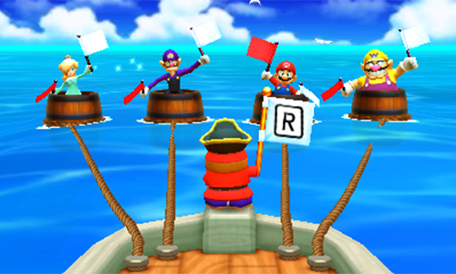 Shy Guy Says makes a return from its days of the first Mario Party.