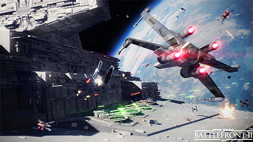 While buggy in the single-player campaign, the space battles are a welcomed addition.