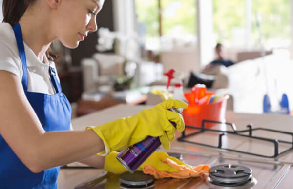 Clean your house to keep yourself moving