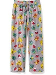 Get caught wearing Pokémon PJs to showcase your passion for video games
