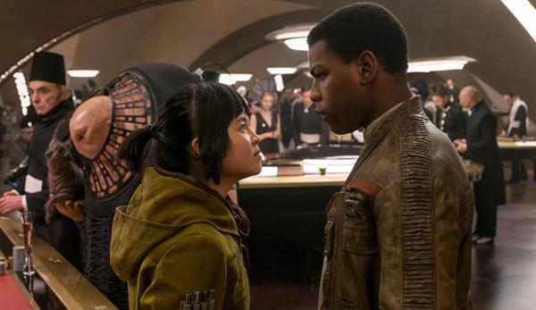 Rebels Finn and Rose butt heads
