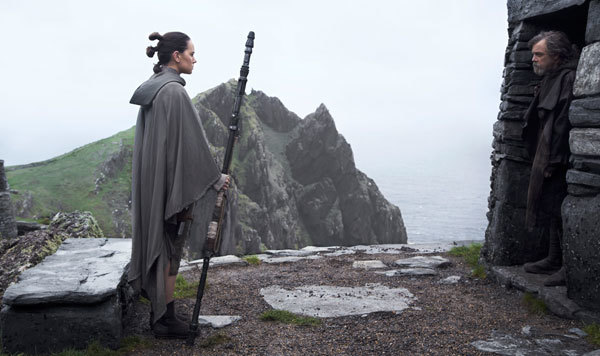 Luke is wary of Rey's great power