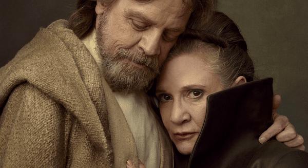 Luke and Leia reunited