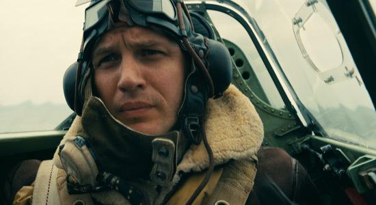 Tom Hardy as pilot Farrier