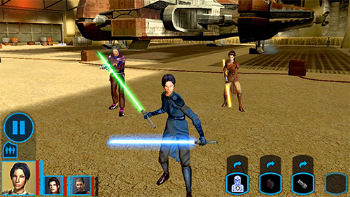 KOTOR's mobile port was something players could only dream of on the original Xbox.