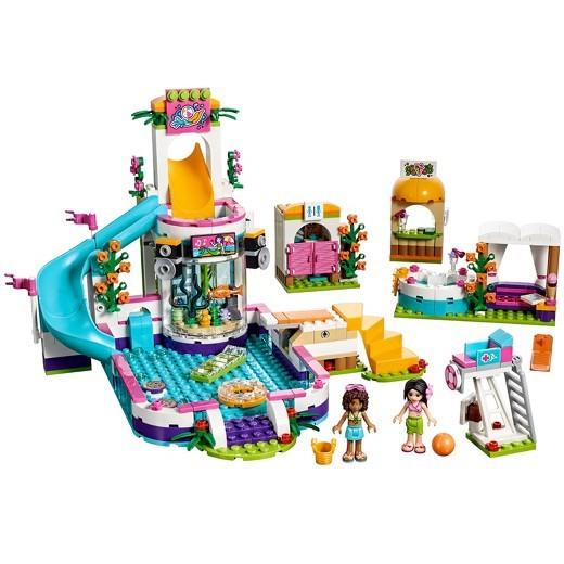 The LEGO Friends Heartlake Summer Pool Set