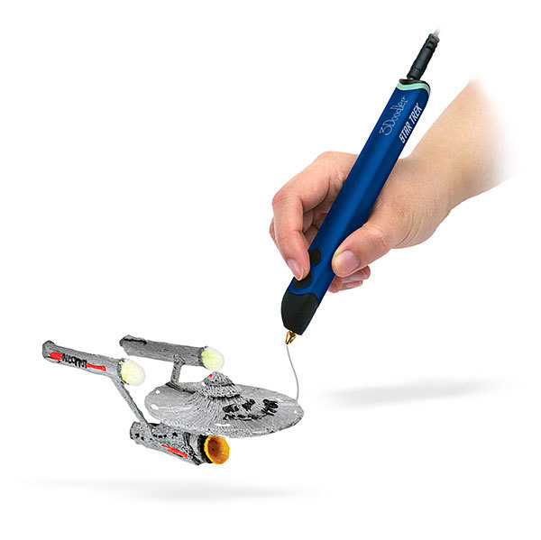 The 3Doodler can make 3D versions of just about anything