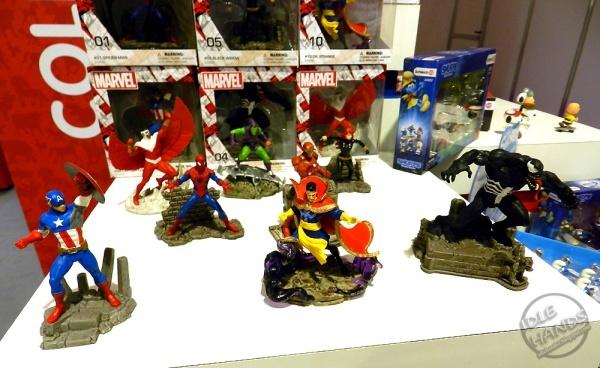 Marvel superhero figurines from Schleich