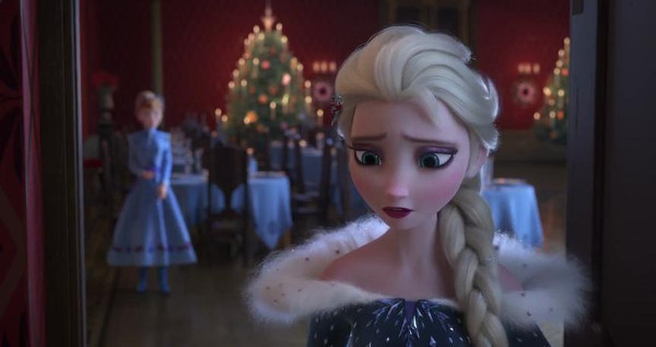 Elsa thinks it's her fault that there are no family traditions