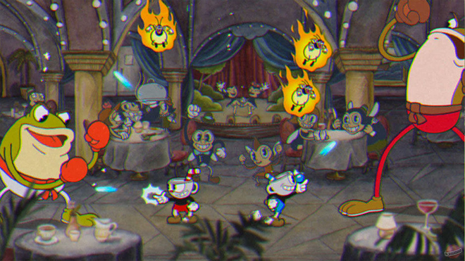 Cuphead's unique hand-drawn aesthetic impressed more than any other game in 2017.