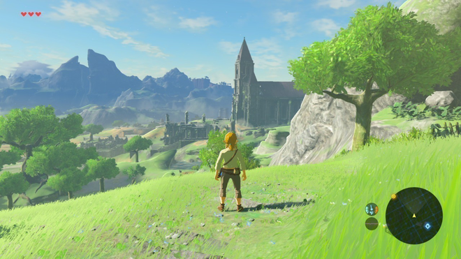 Breath of the Wild nailed the perfect art style for a Zelda game.