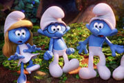 Demi Lovato and Joe Manganiello Talk Smurfs: The Lost Village