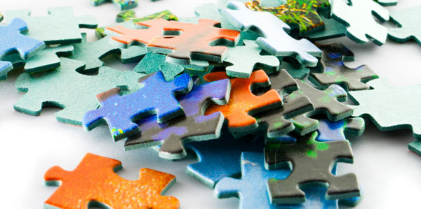 Life can often feel like a giant puzzle.