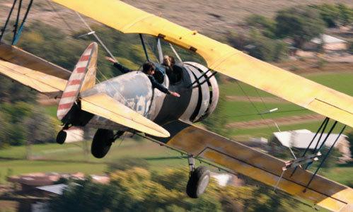 Gardner loves flying above the Earth