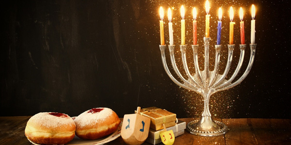 Feature hannukah decorations feat