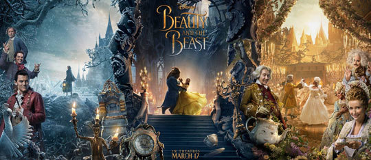 Disney's Beauty and the Beast Character Posters!