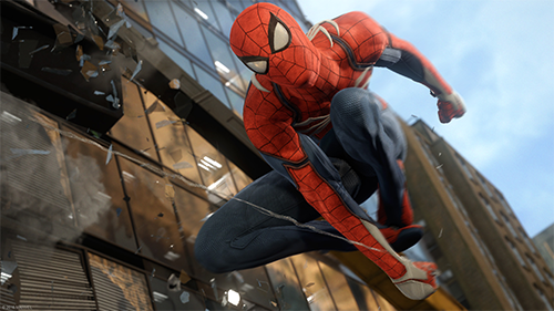 We're patiently anticipating Spider-Man's exclusive excursion on PlayStation 4.
