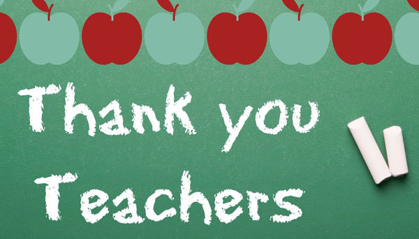 Teachers bring a lot into our lives and are worth our gratitude.