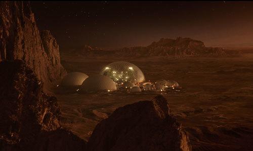 The Mars base where Gardner is born