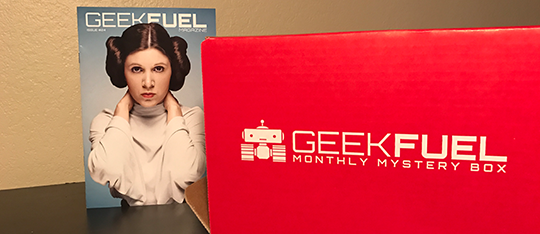 January 2017's Geek Fuel subscription.