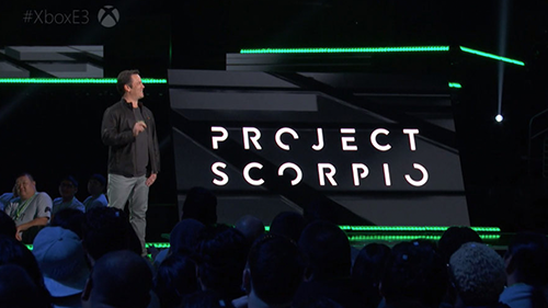 Phil Spencer announcing the next Xbox at E3.