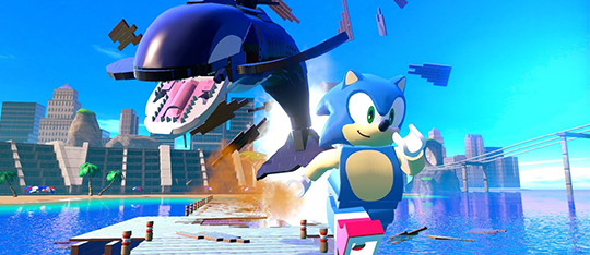 Sonic is the star of LEGO Dimensions Wave 7!