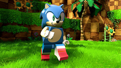 Sonic's Green Hill Zone translates surprisingly well to LEGO - I should stop being so surprised by TT Games.
