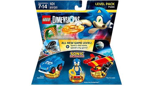LEGO Dimensions Sonic The Hedgehog Level Pack Box Art