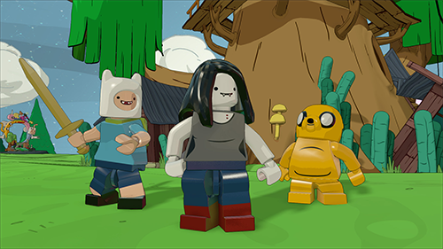 Marceline joins the rest of the Adventure Time cast in LEGO Dimensions.