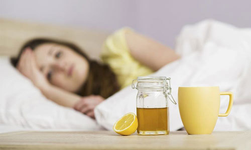 Honey-lemon tea with help soothe your body