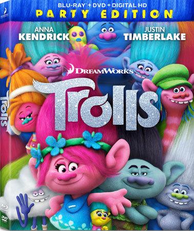 Trolls Party Edition Blu-ray