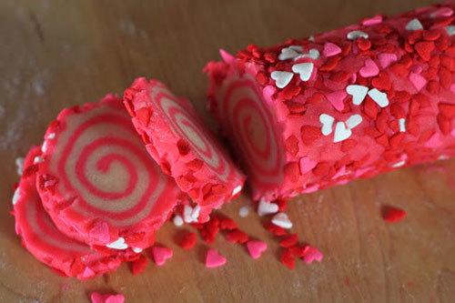 Sweet Swirl Love Sugar Cookies